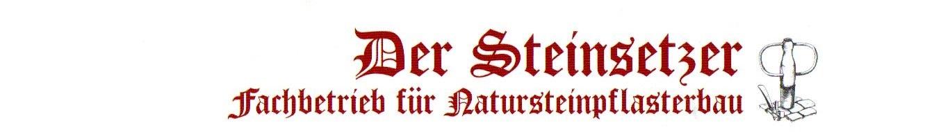 Der Steinsetzer - Fachbetrieb für Natursteinpflasterbau - Uwe Naumann Logo